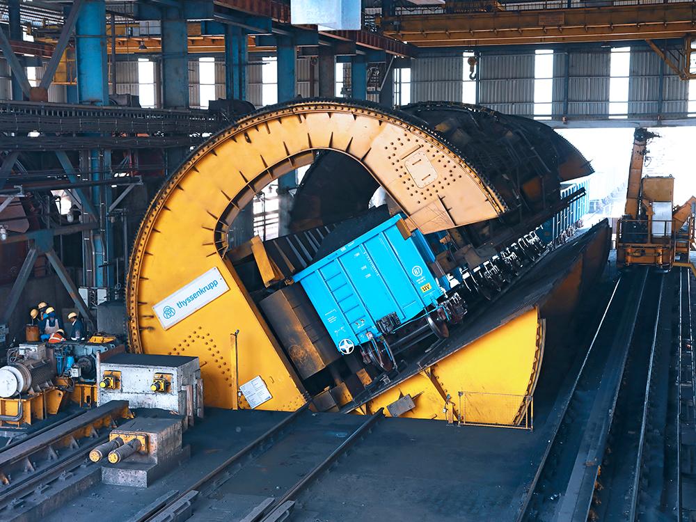 Wagon Tipplers Thyssenkrupp Industries India